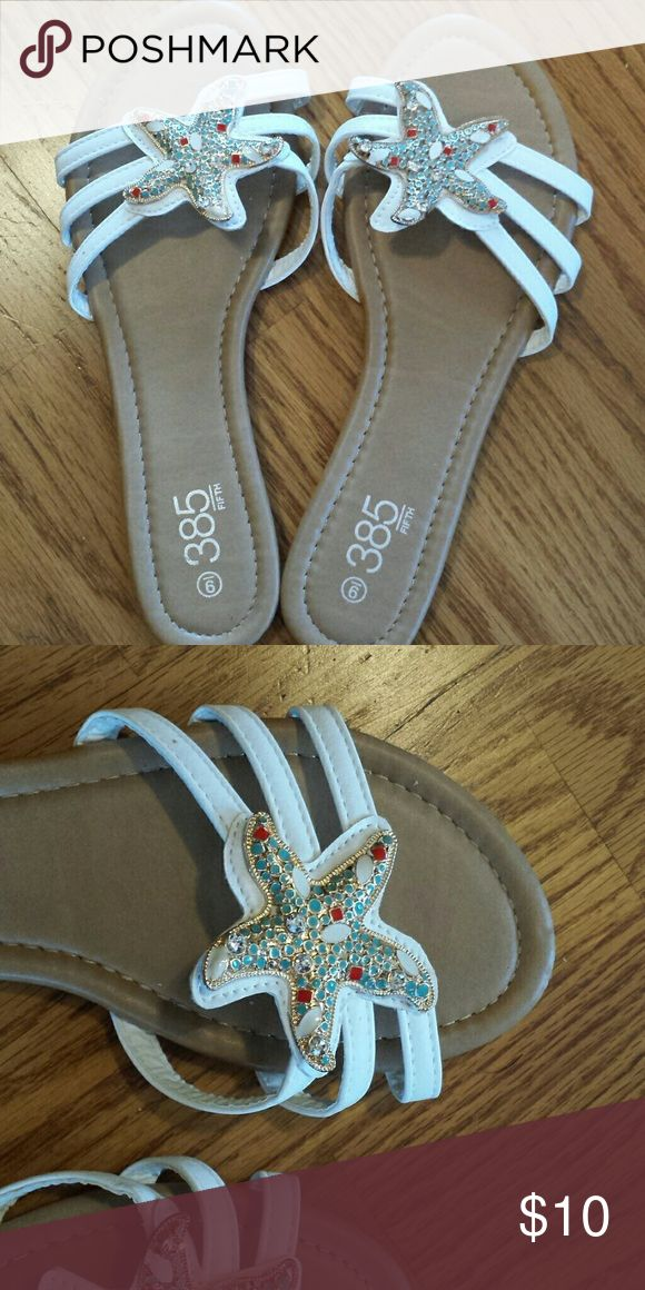 Starfish sandals, size 9 Brand new, will fit size 8 or 9. 385 fifth  Shoes Sandals