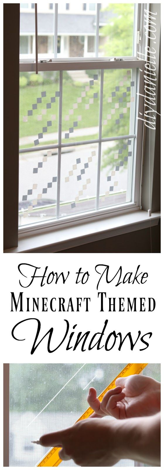 How to make Minecraft Windows with the Cricut Air 2
