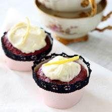 4. muffins Rödbetsmuffins med frosting