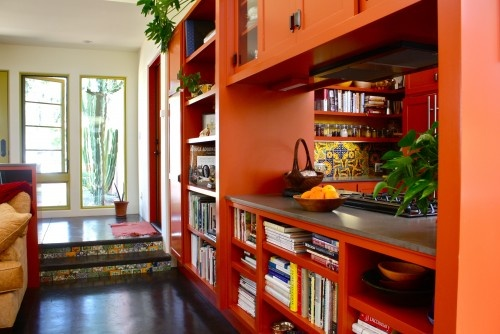 COLOR!  mediterranean living room by Shannon Malone