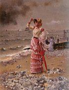 """New artwork for sale! - """" Stevens Alfred Femme Elegante Voyant Filer Un Vap by Alfred Stevens """" - http://ift.tt/2p0Tue7"""