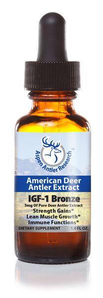 Bronze: Pure American Deer Antler Velvet Extract-Formula|Highest Concentration -5mg #deer #antler #velvet #extract #supplements #IGF1 #AmericanDeerAntlerExtract