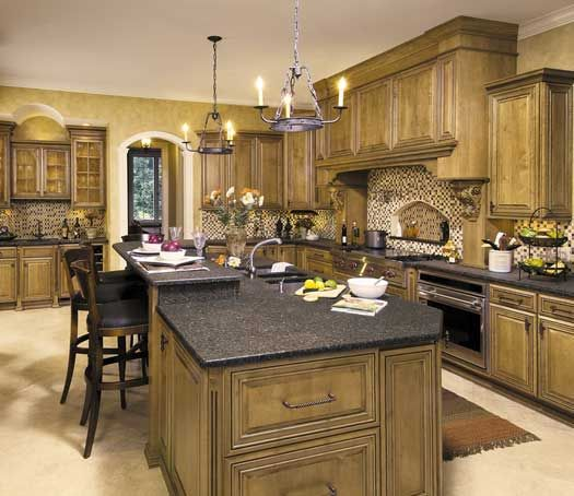 Kitchen In Toledo, OH. Designed By Jennifer Diehl With Design Classics In  Toledo, OH. Fieldstone Cabinetry Glen Cove Door Style In Maple Finished Iu2026
