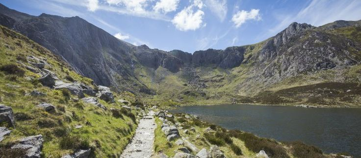 Footpath at Cwm Idwal, Snowdonia