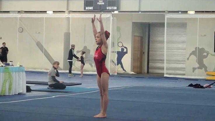 USGA 2013 - 2021 Level 3 Gymnastics Floor Routine 9.625
