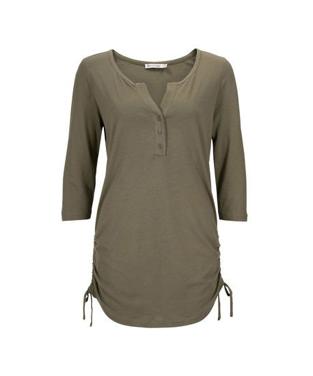 Side-Tie Henley Tunic   Rickis