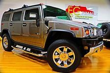 Hummer : H2 Luxury 2009 hummer h 2 luxury for sale rare greystone metallic 2 nd row bucket seats