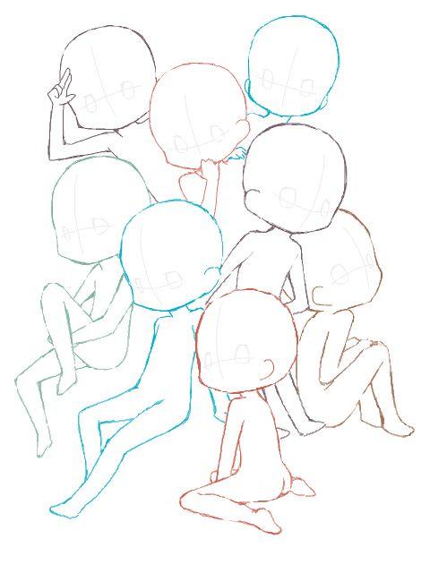 サナタさんの手書きブログ 「8人集ってみた」 手書きブログではインストール不要のドローツールを多数用意。すべて無料でご利用頂けます。