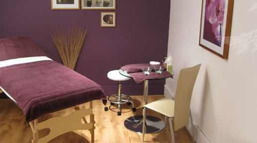 Inside the salon miniature spa boutique pinterest for A b beauty salon