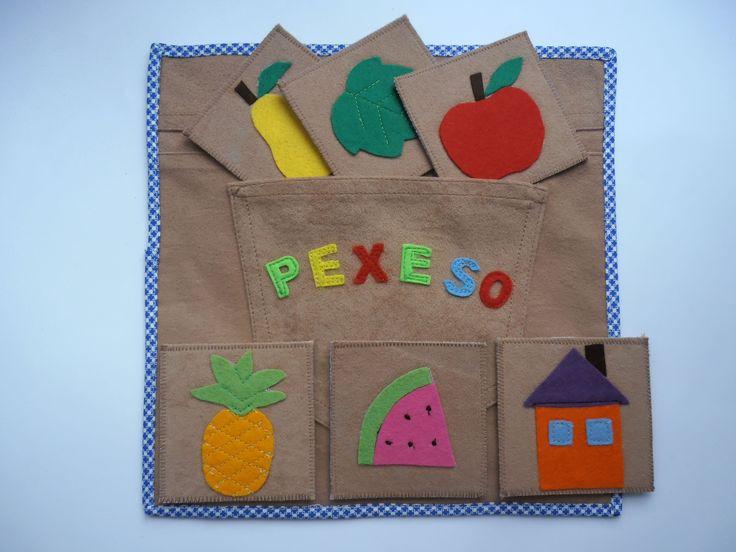 Quiet book pexeso