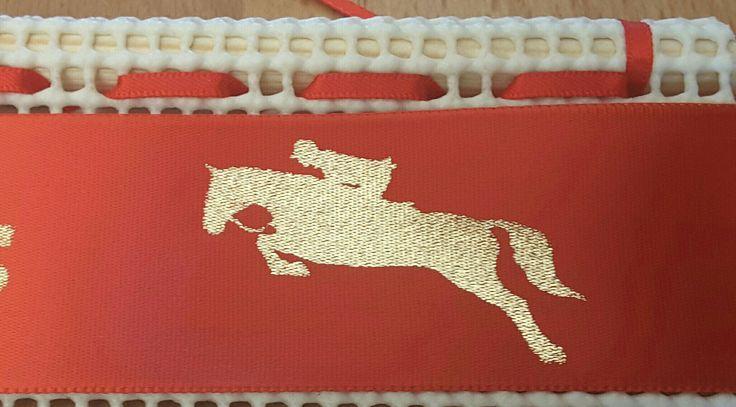 """New """"JUMPER """" DESIGN for your rosette ribbons"""