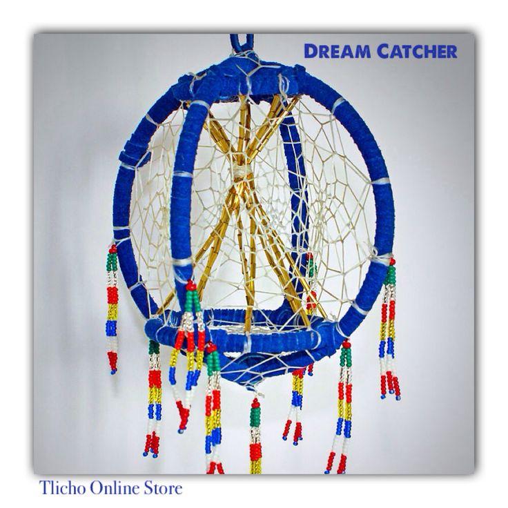 #DreamCatcher made by a #Tlicho from #Behchoko, NT. http://onlinestore.tlicho.ca/products/dene-dream-catcher