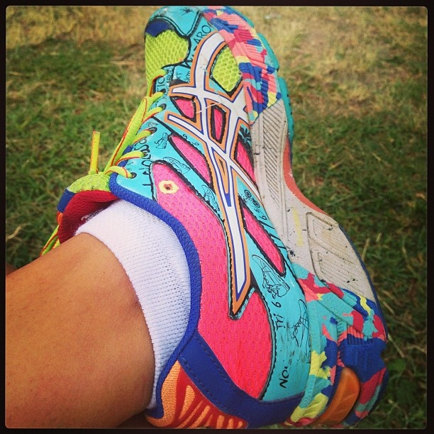 @miss_shazi sent in her entry to WIN a brand new pair of ASICS shoes in our Instagram competition. #DiamondASICS