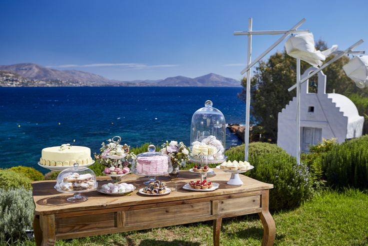 "Imagine the most beautiful day of your life, in a stunning location; the garden of ""Island Art & Taste"", just a few kilometers outside Athens, on the ""Athens Riviera""! Book with #ARIAFineCatering: (+30) 210 9656388."