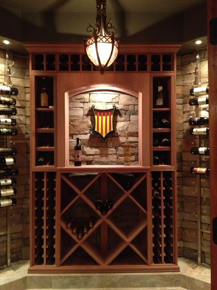 12 best fireplace images on pinterest home ideas for Wine cellar lighting ideas