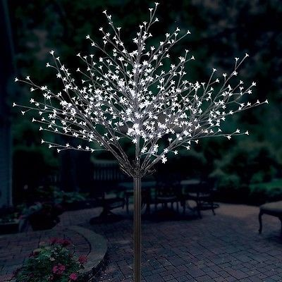 outdoor blossom tree led lights. blossom tree with 600 led lights, 7ft 2.13m. indoor and outdoor use nbnb led lights e