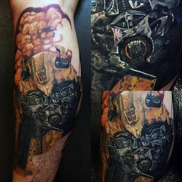 60 Transformers Tattoo Designs For Men – Robotic Ink Ideas