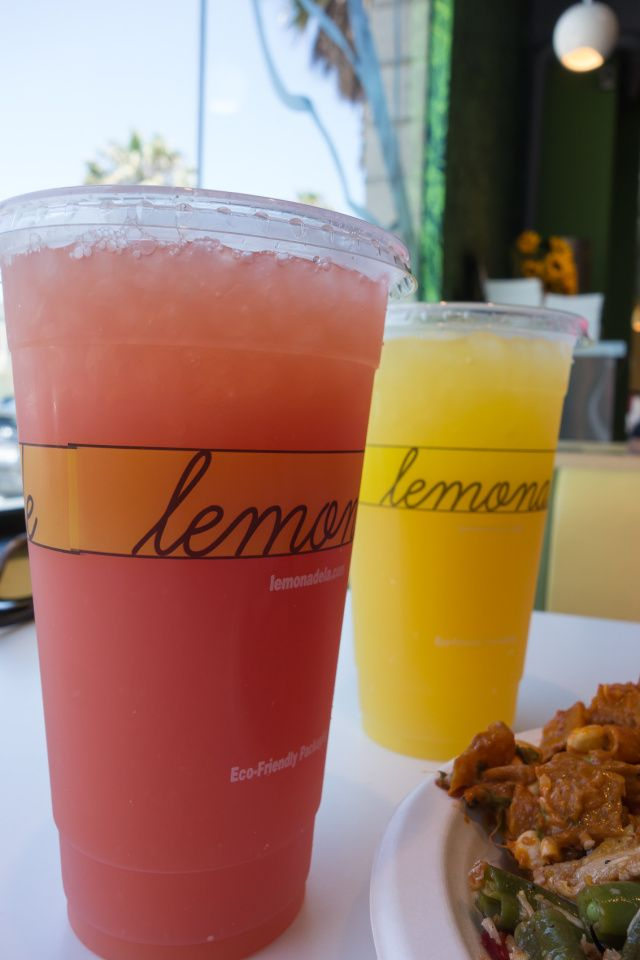 One of Victorias favorite simple restaurants in LA is Lemonade. She loves all the food there and they have many healthy choices and they have the best flavors of lemonade!