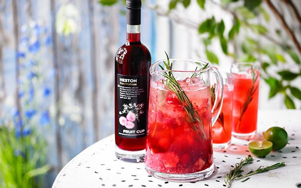 Chef Heston Blumenthal shares his recipe for a fruity and refreshing cocktail, perfect for spending summer in the garden