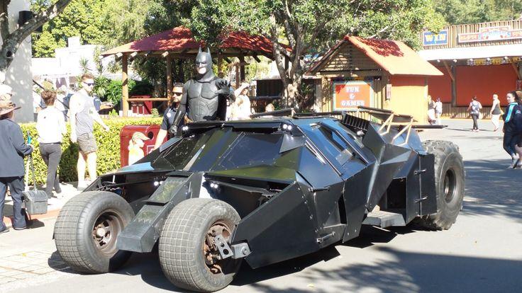 Batman at Movie World on the Gold Coast in Queensland, Australia