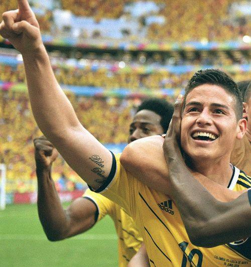 Futbol seleccion Colombia - Rodriguez