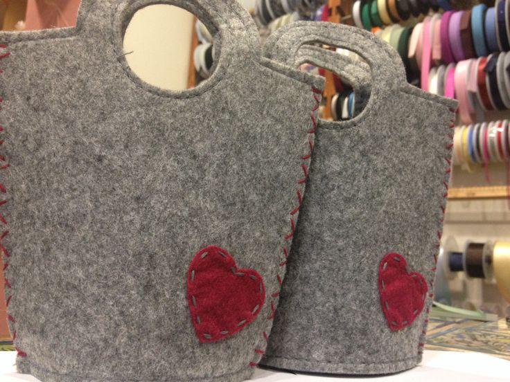 Handmade bags. Borse fatte a mano.