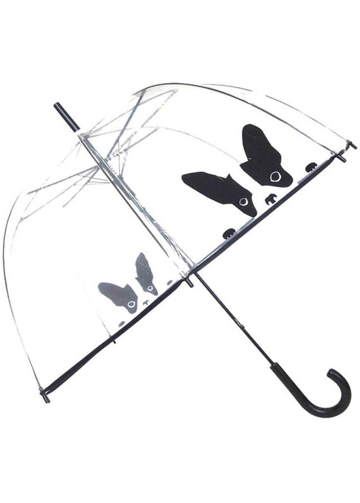 Description: Dit hondje houd je droog van de regen en geloof ons iedere keer weer zal ze een glimlach op jouw gezicht brengen! Deze geweldige paraplu is transparant zo heerlijk 60 s. Ingeklapt heeft ze een lengte van 90 cm.  Price: 17.95  Meer informatie  Loving Rain Paraplu Dome Drawn Dog