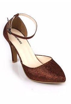 Jual sepatu wanita murah dan berkualitas: CLAYMORE Claymore High Heels BB 703P Brown