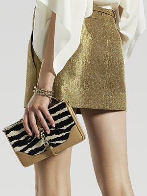 Gucci #gold mini skirt