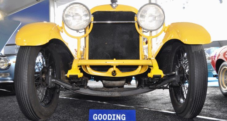 Gooding Pebble Beach Highlights – 1920 Mercer Series 5 Raceabout Is Charming and Innovative
