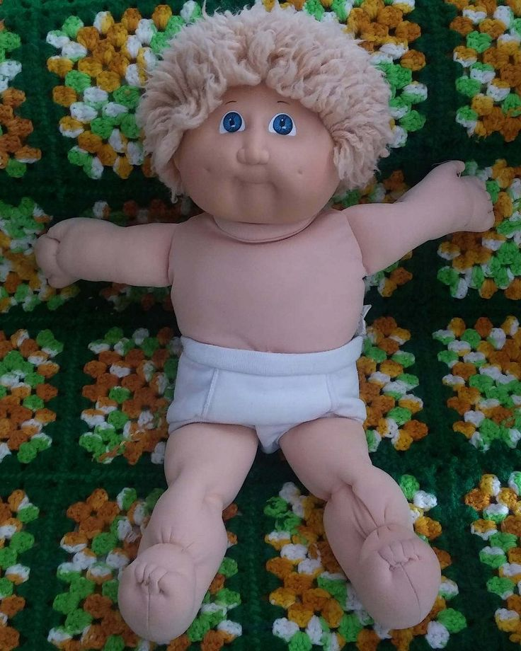 """Cabbage Patch Kids Doll Clown Clothes With Underwear 16"""" inch Doll Shag Hair by cherlove2 on Etsy"""