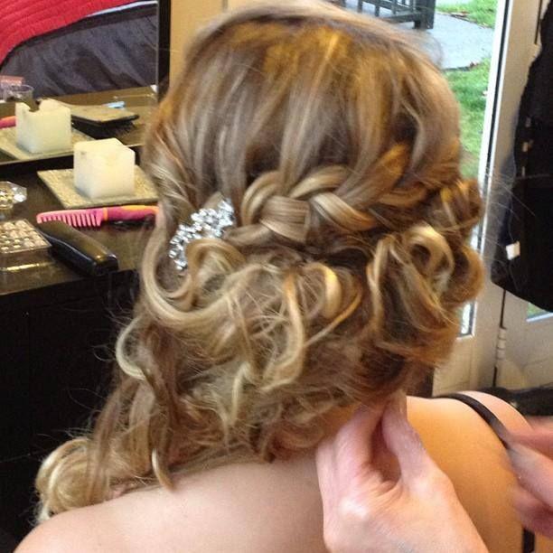 Amazing ball hair..