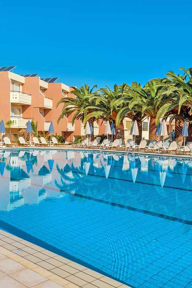 Hotel Atrion In Agia Marina Chania Crete