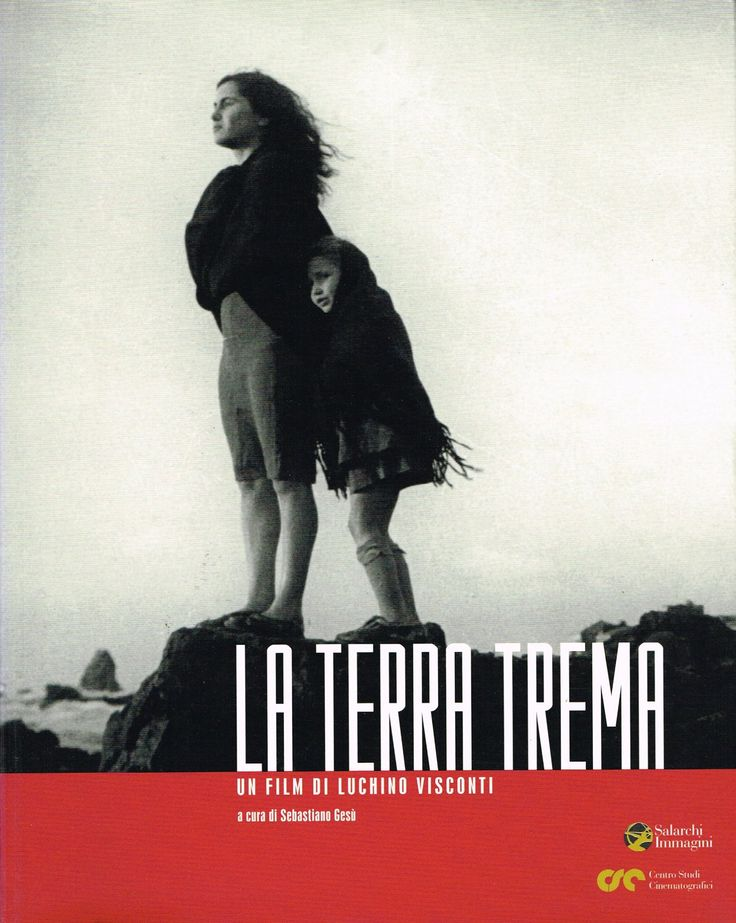 La Terra Trema /// Un film di Luchino Visconti GaP LIBRI perché seleziona case editrici giovani ed indipendenti per proporre libri di design, architettura, arti visive e cinema da sfogliare ed acquistare in un luogo destinato alla lettura. Una casa senza libri è come una stanza senza finestre.