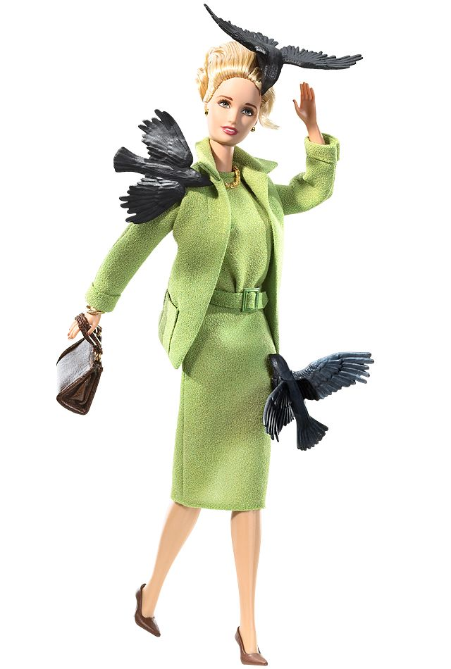 "Alfred Hitchcock's ""The Birds"" Barbie® Doll (2008). Designed by: Bill Greening"
