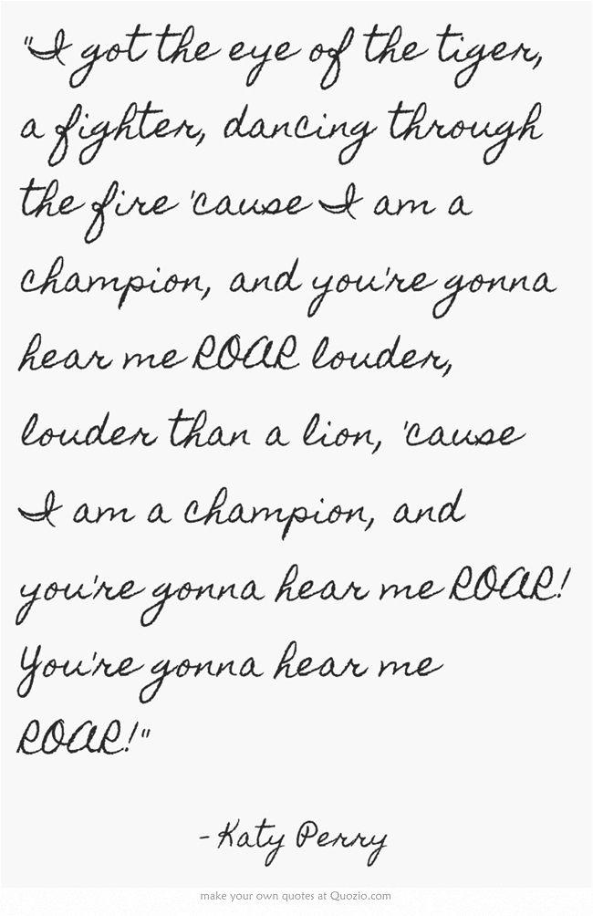 Lyric eye of the tiger katy perry lyrics : 194 best I wish my life were made of Song Lyrics images on ...