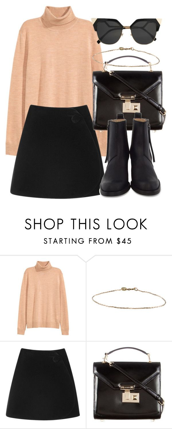 """Untitled #5984"" by laurenmboot ❤ liked on Polyvore featuring Simone Rocha, Rebecca Minkoff and Acne Studios"