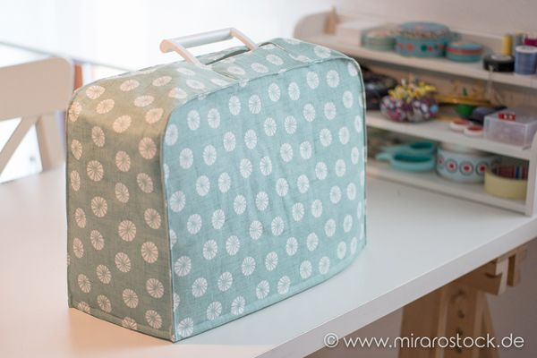 Instructions for a sewing machine case :-) * FOR FREE * (mira) – free home decor patterns & tutorials