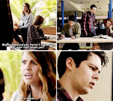 Teen Wolf 6x01 - Why would I want to ruin your yearbook photo?