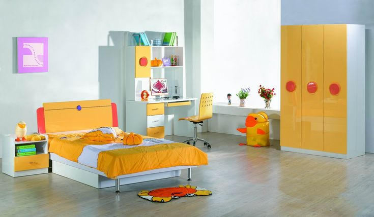 Kid Bedroom Yellow Bedroom Theme Color For Your Kids How To Determine the Bedroom Furniture Sets For Kids