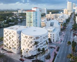 OMA completes faena forum as part of new cultural district in miami beach