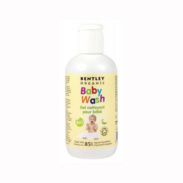 Dziecięcy szampon i żel do mycia z aloe vera, rumiankiem i lawendą / Bentley Organic