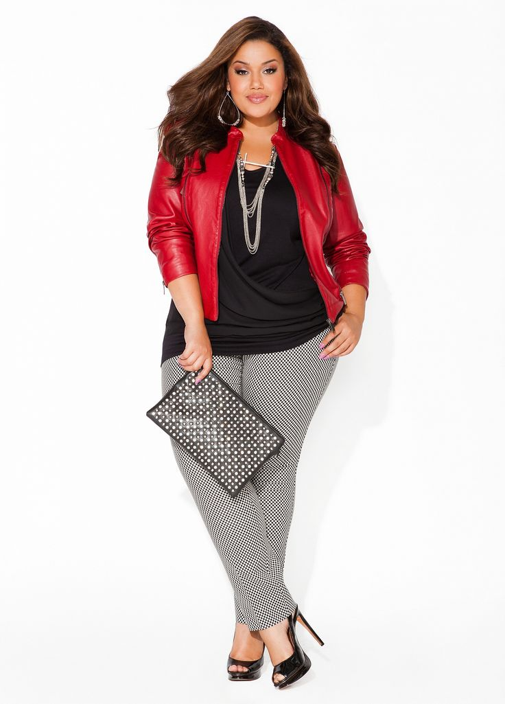 Another work and play outfit! Love those pants! Ashley Stewart: This model is gorgeous! #curvyissexy