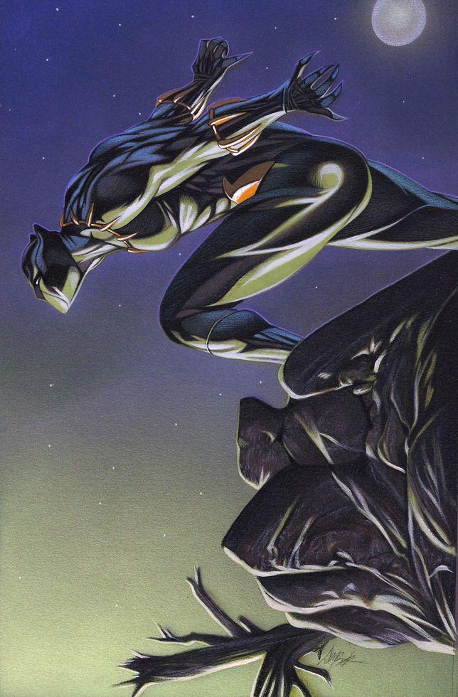 Black Panther by David Michael Beck