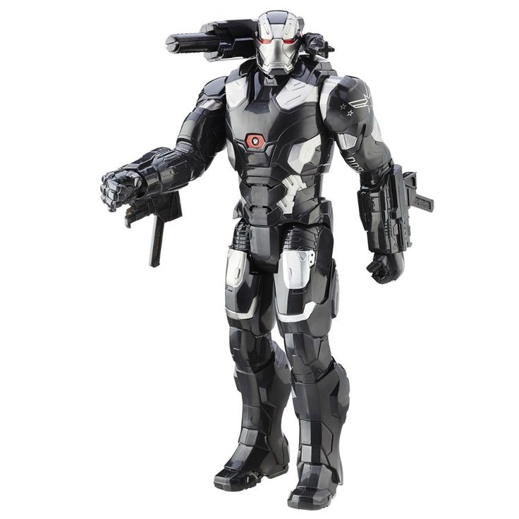Boneco Eletrônico 30 cm - Titan Hero Series - Marvel - Capitão América Guerra Civil - Máquina de Guerra - Hasbro - Ri Happy