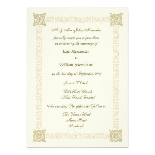 celtic weddings celtic wedding invitations and stationery - Celtic Wedding Invitations