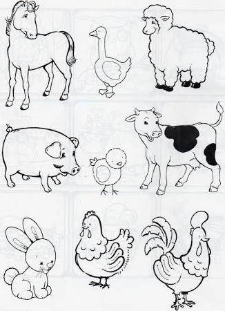 Výsledok vyhľadávania obrázkov pre dopyt tema de preescolar animales de la granja