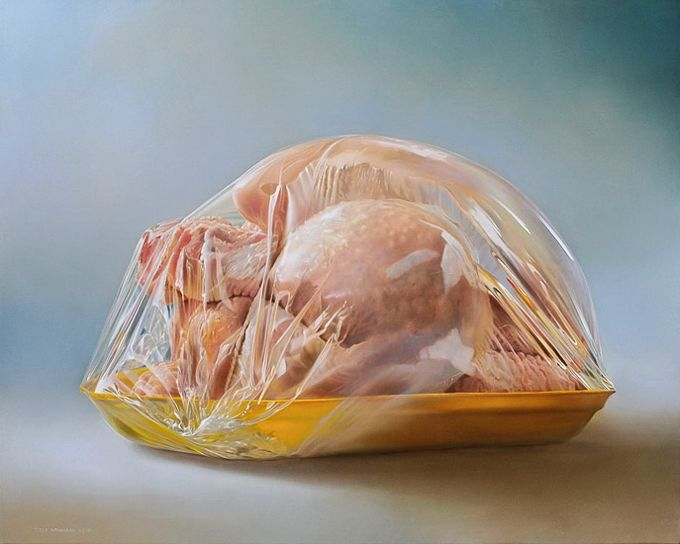 Hyper-realist Paintings – Tjalf Sparnaay