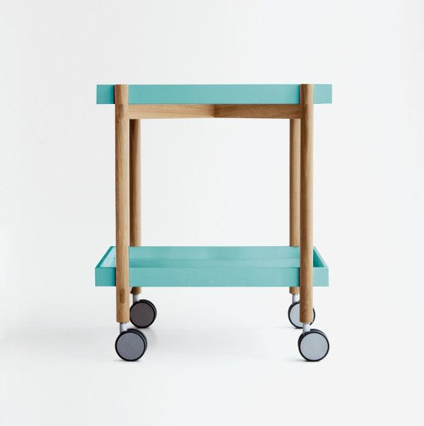 Mai Tai Modern Bar Cart by Odosdesign for Punt