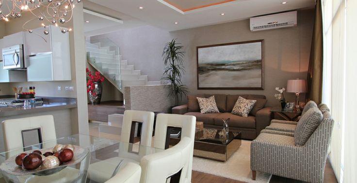 Muebles casa sala comedor dise o contemporaneo for Diseno de interiores sala de estar comedor
